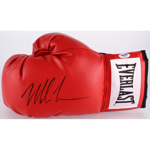 Mike Tyson Signed Everlast Boxing Glove (PSA COA) Fight