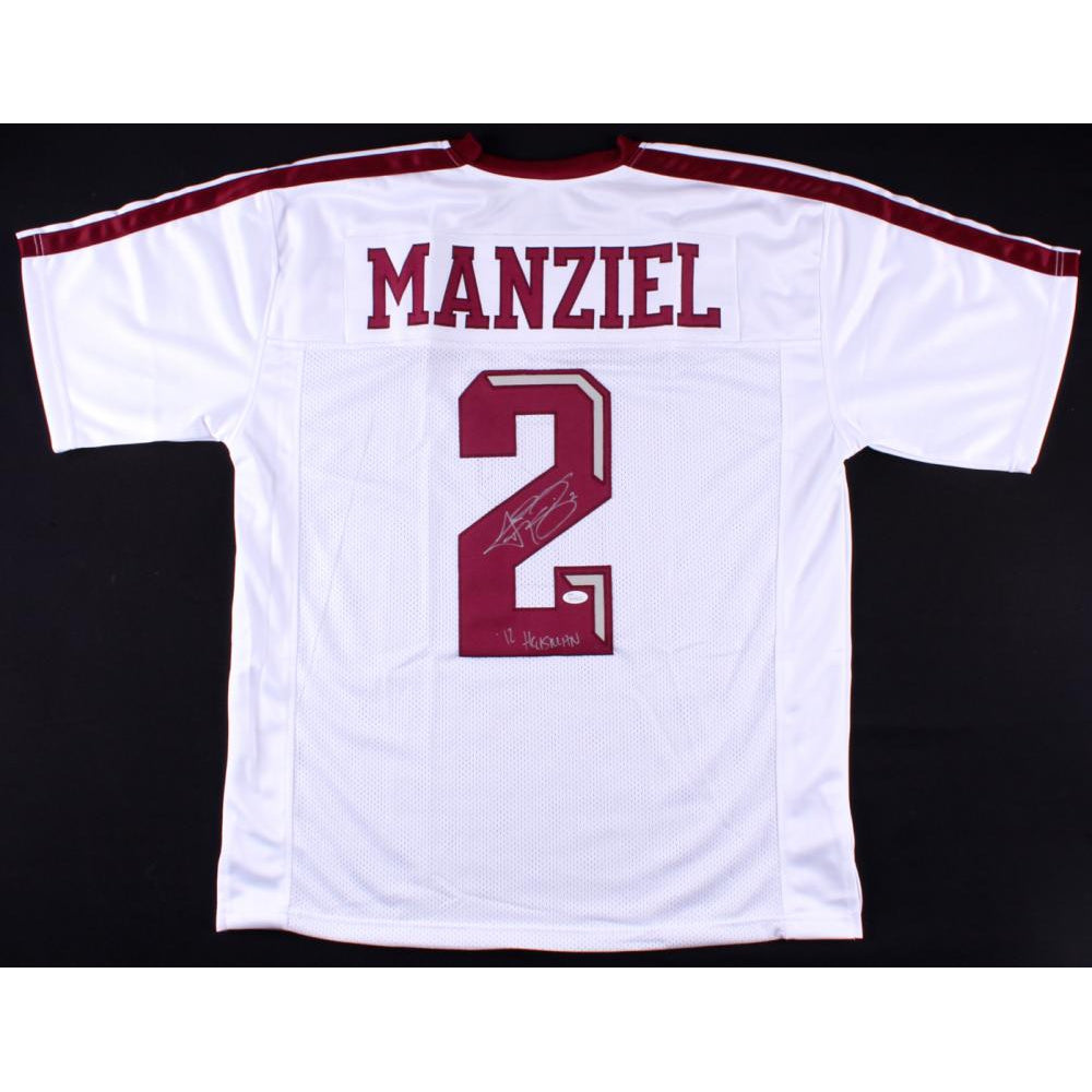 low priced e2f6c 1493c Johnny Manziel Signed