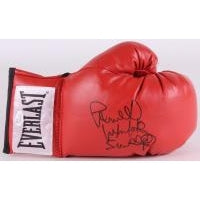 "Pernell Whitaker Signed Everlast Boxing Glove Inscribed ""Sweet Pea"" Fight (JSA COA) Fight"