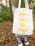"""I Care About The Earth"" Tote Bag"