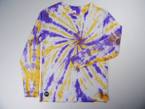 Y10 - Purple and Orange Long sleeve