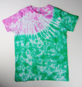 Y8 - Green and Pink T-shirt