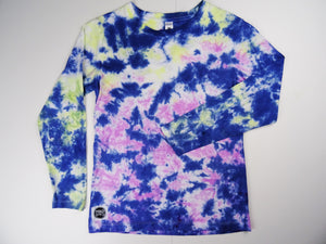 Y10 - Navy, Fuchsia and Yellow Long sleeve