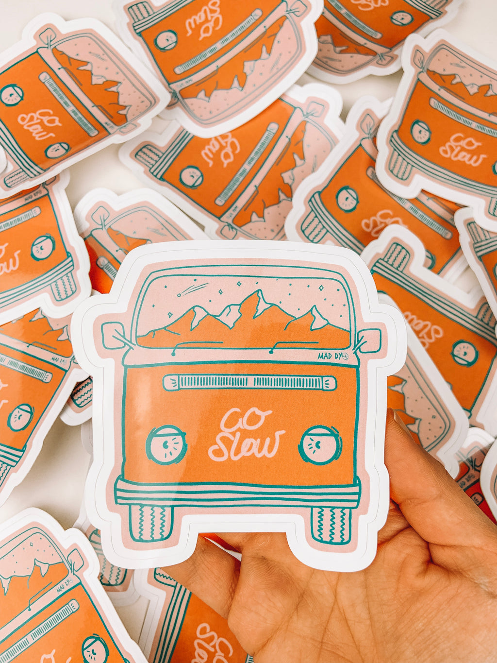 Go Slow Van Sticker