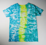 Y10 - Teal, Yellow and Green T-shirt