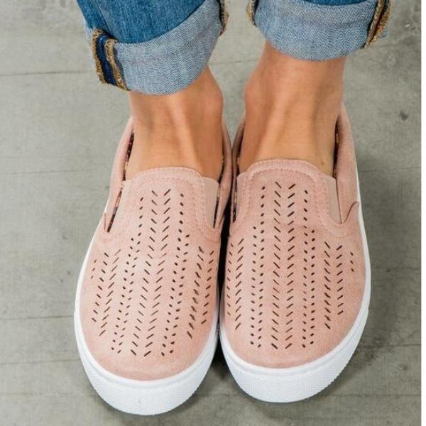 Cut-Out Slip On Sneaker