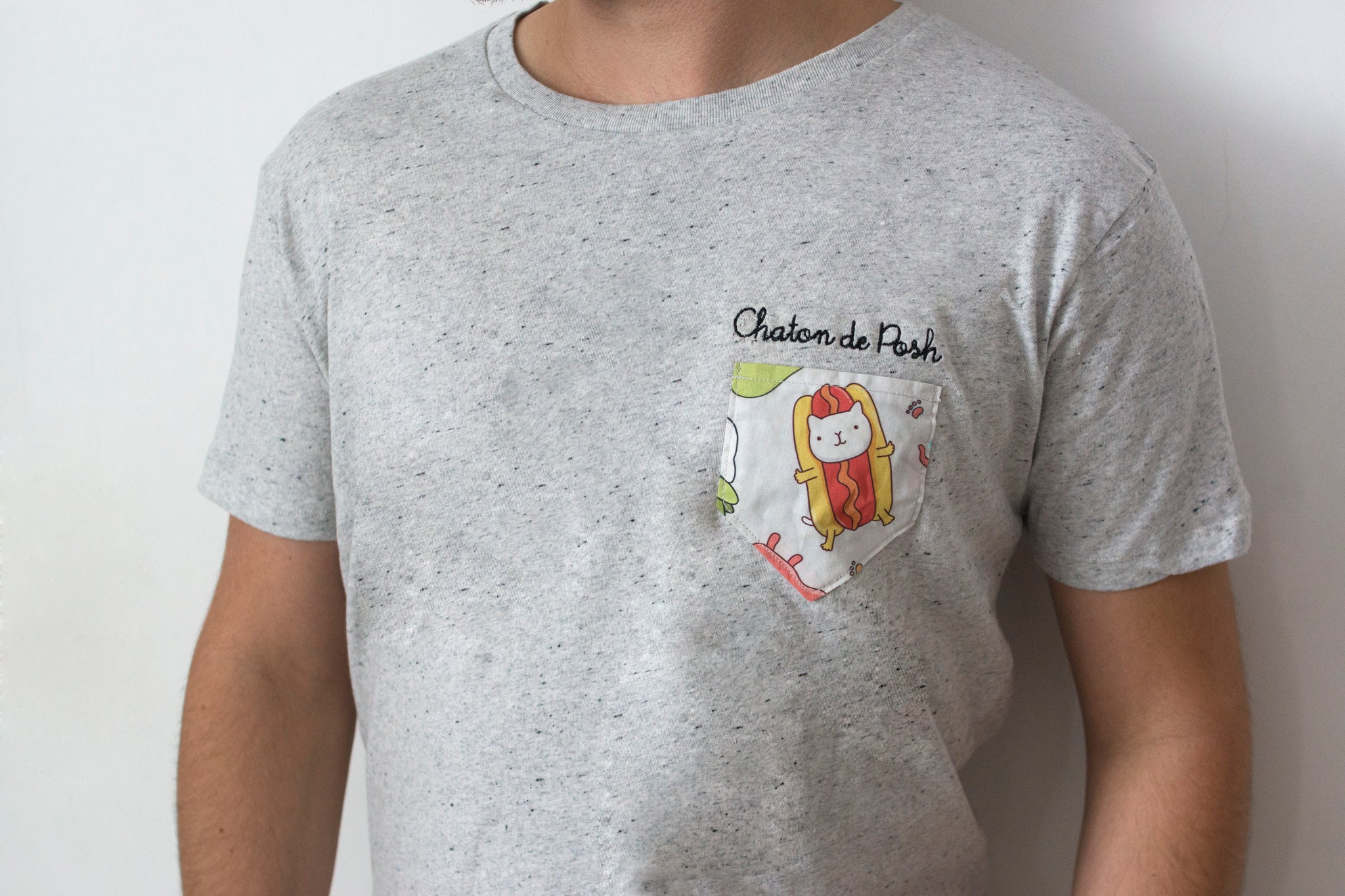 T-shirt Chaton de Posh 2