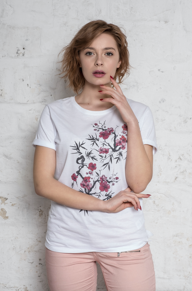 T-shirt ALIXE / Print Cherry Tree