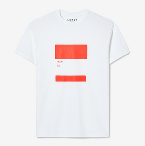 LEDGE BRIGHT RED T-SHIRT