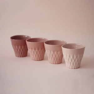 CRYSTAL PALACE CUP X 4 BLUSH COLLECTION