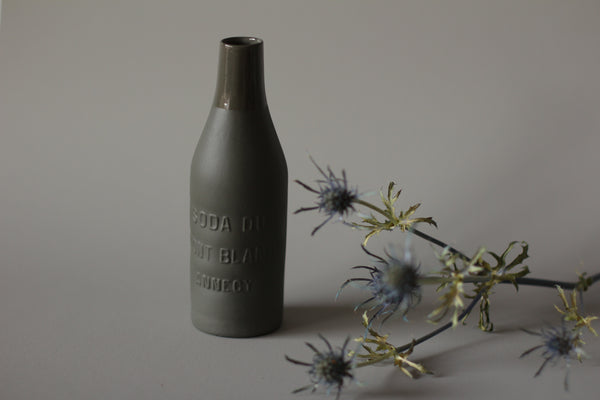 SODA DU MONT BLANC - ANNECY - PORCELAIN BOTTLE