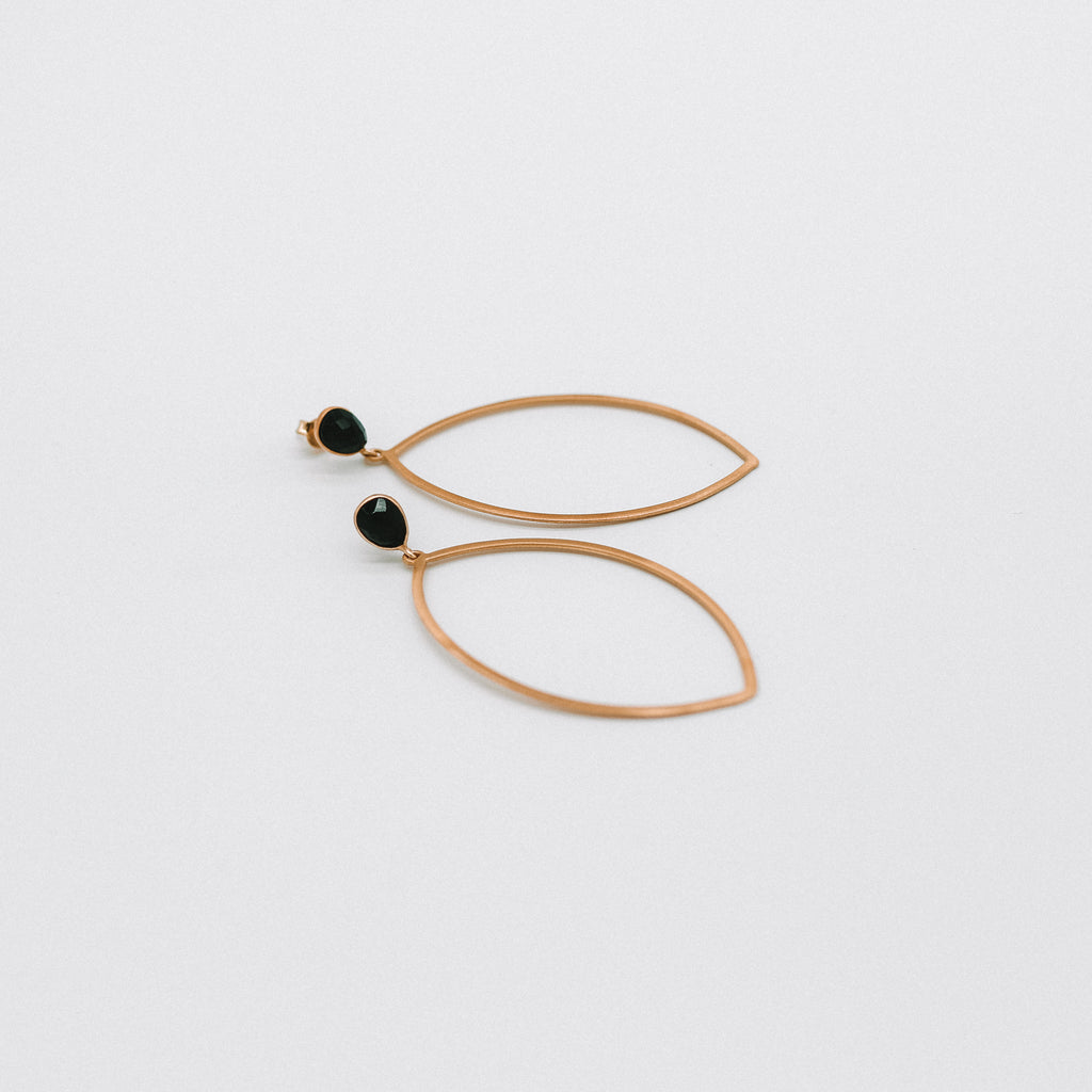 Kati silhouette earrings
