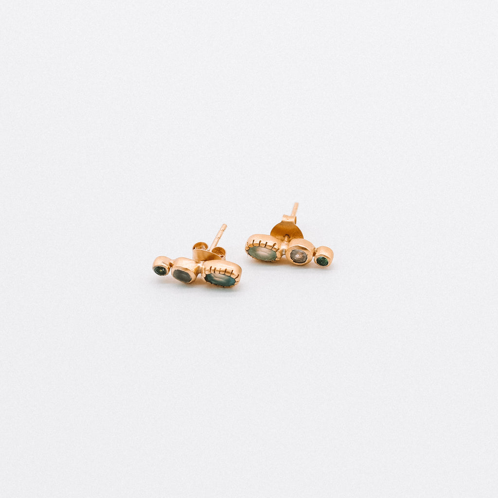 Asteroid earrings