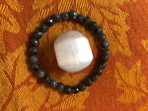 Labradorite & Selenite - crystal energy & angelic healing