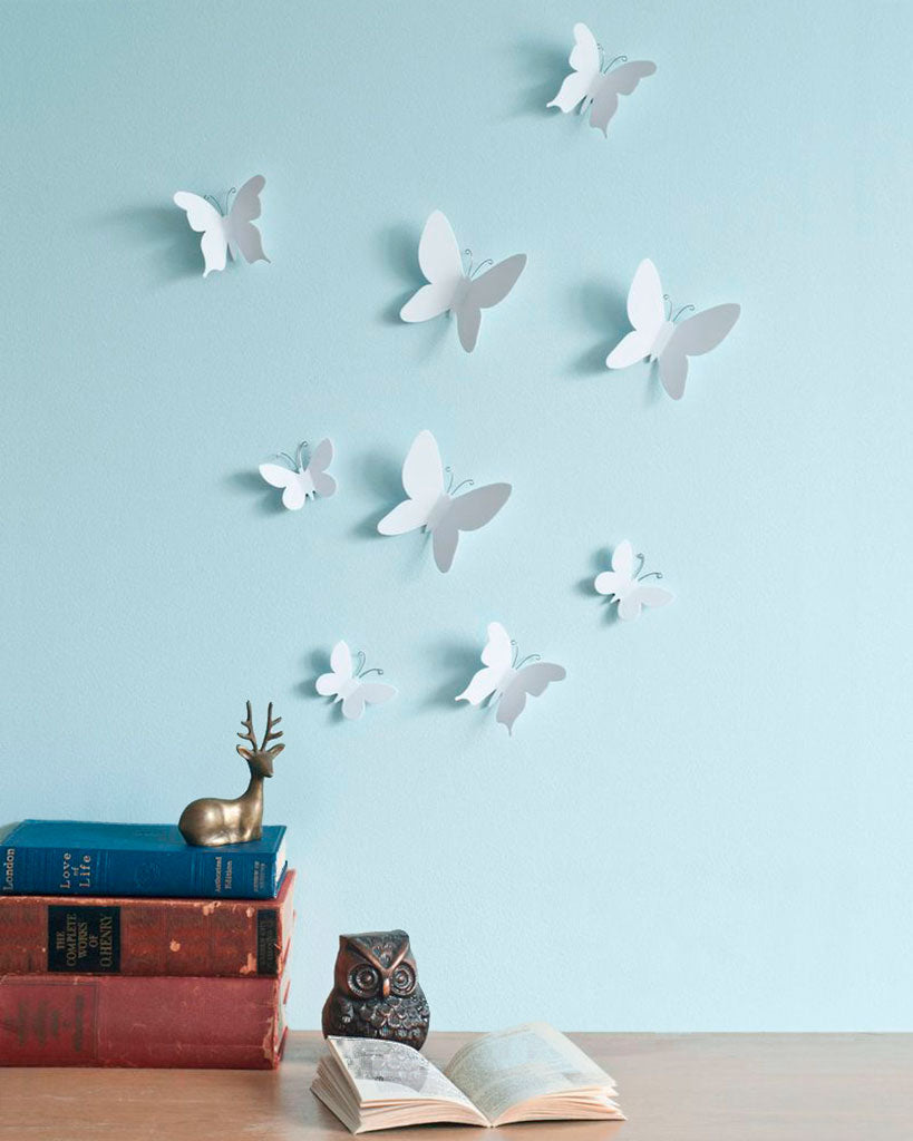 3D baterflies decor