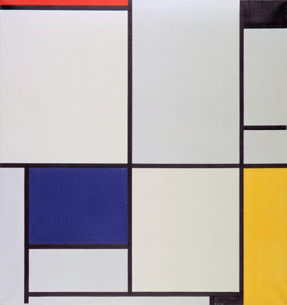 Piet Mondriaan - Tableau 1 - canvas art print for home or office