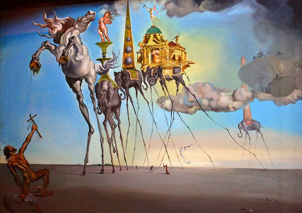 Surrealism Dali artwork