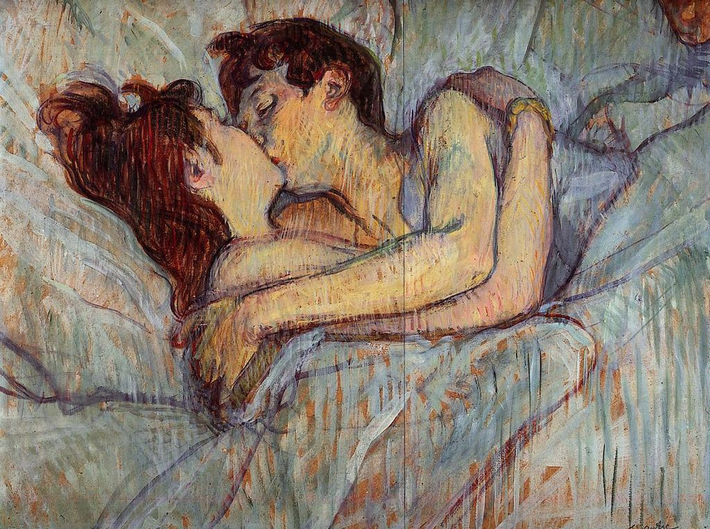 Toulouse-Lautrec In bed