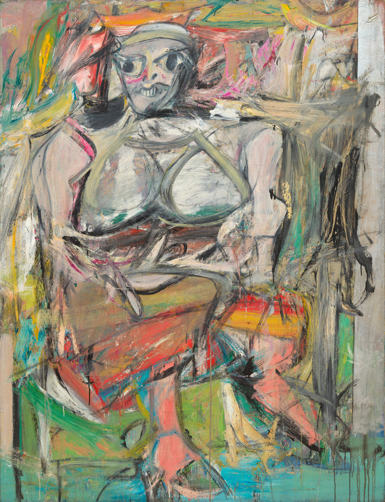 Willem de Kooning Woman I