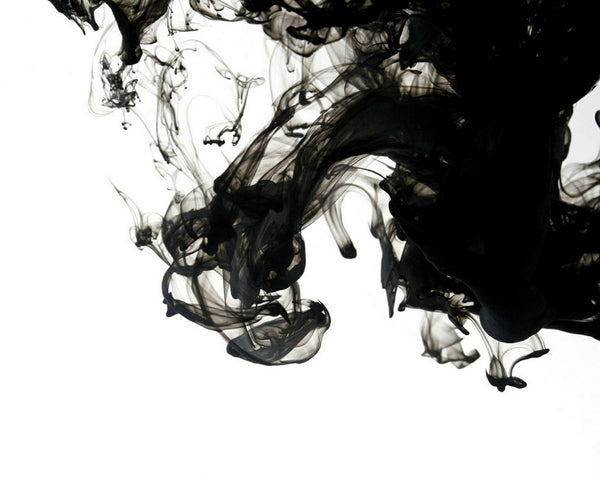 Black ink in water