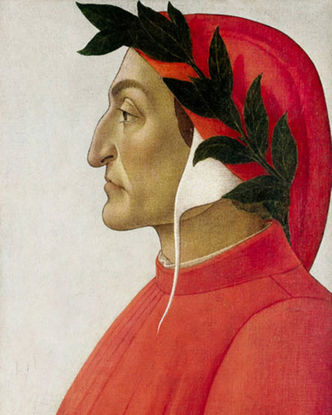 Portrait of Dante - artwork for home