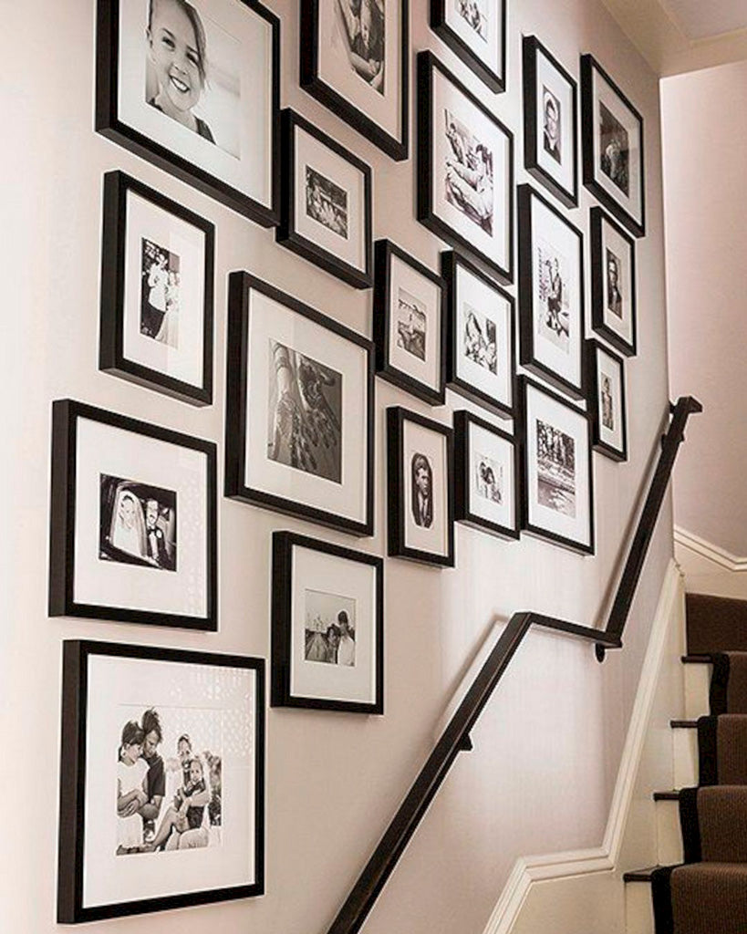 Staircase family photos