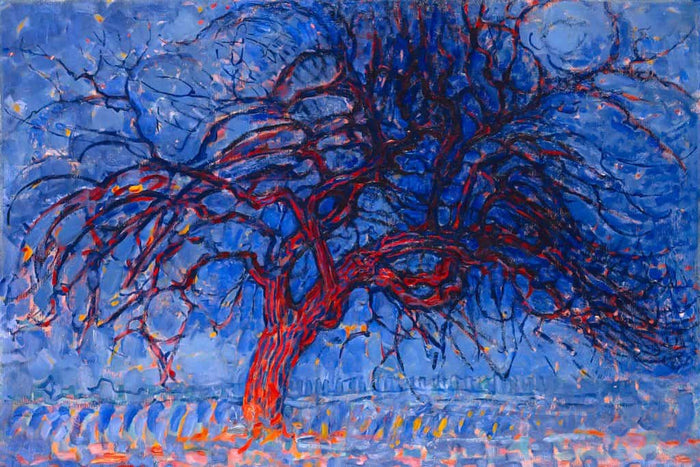 Evening Red Tree (Piet Mondriaan)