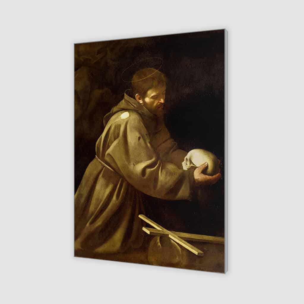 Sint Franciscus in gebed (Caravaggio)