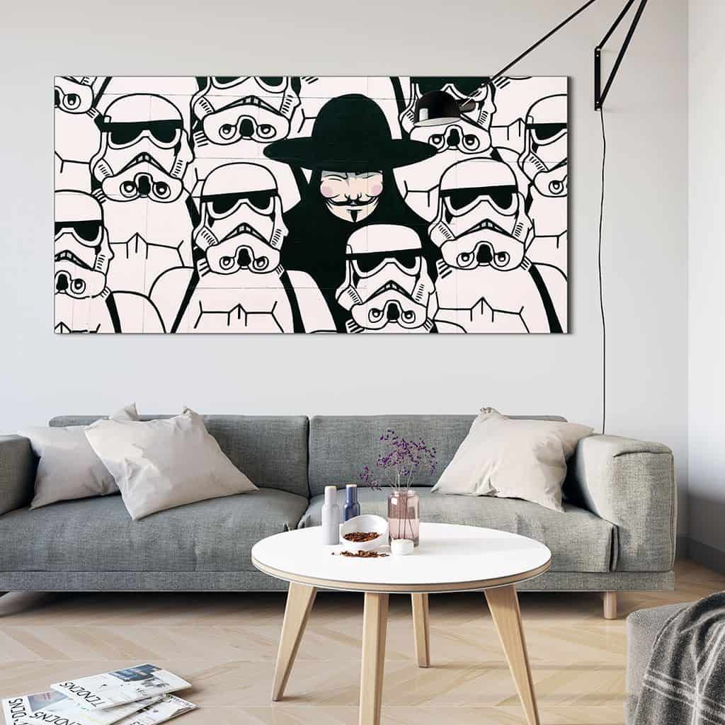 Storm Trooper Street Art