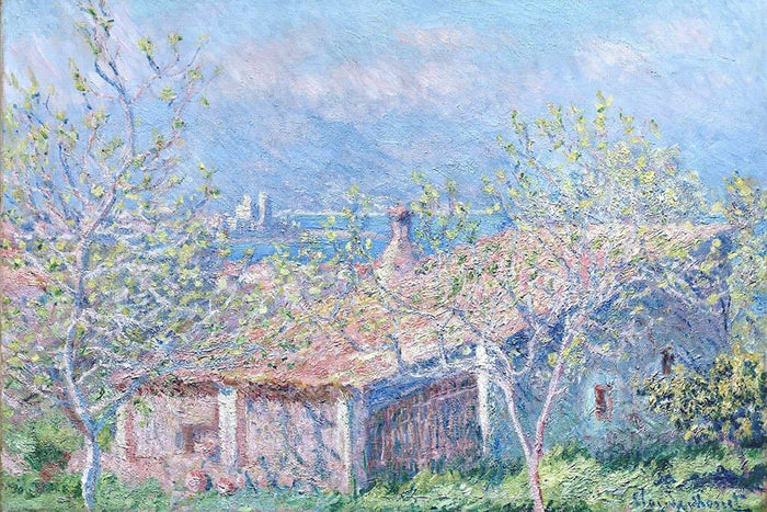 Tuinmanshuis in Antibes - Claude Monet