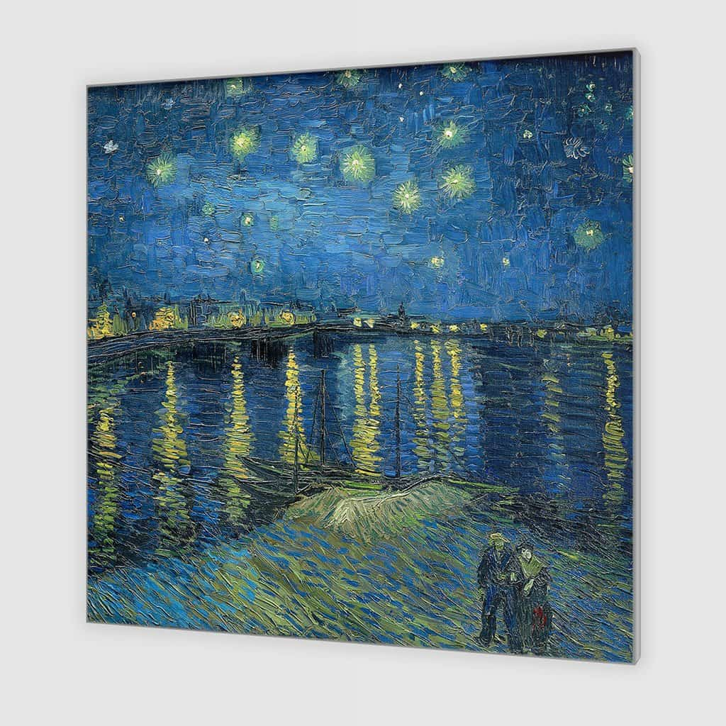 Sterrennacht over de Rhône (Vincent van Gogh)