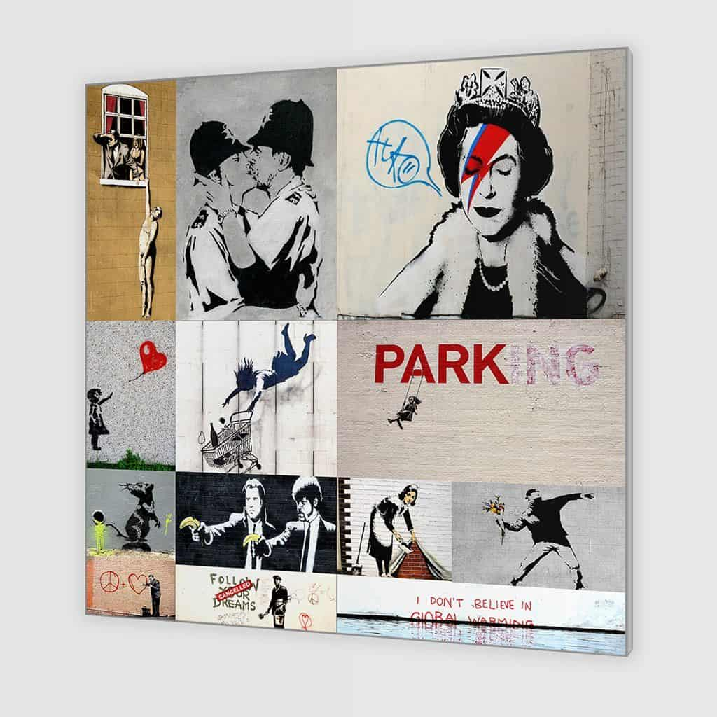 Banksy Art Collage V