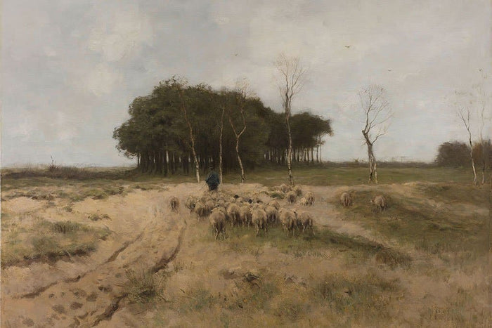 Heath at Laren (Anton Mauve)