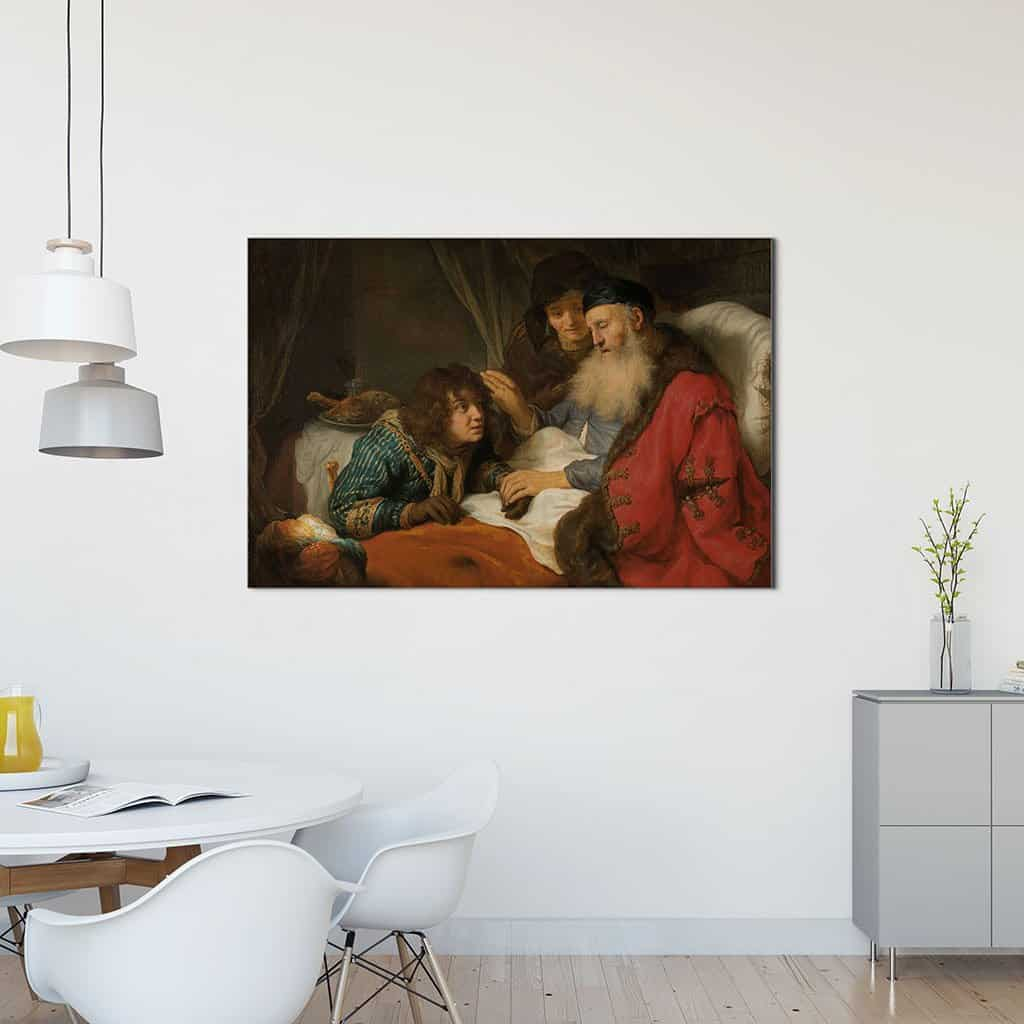 Isaac Blessing Jacob - Govert Flinck