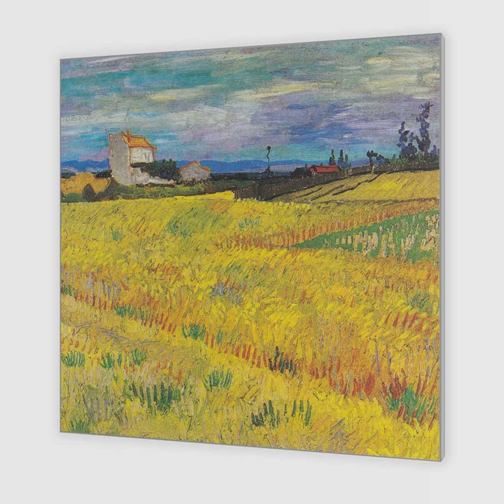 Korenveld in Arles (Vincent van Gogh)