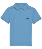 Kids Polo Shirt (Royal Blue Embroidered Cinquecento)