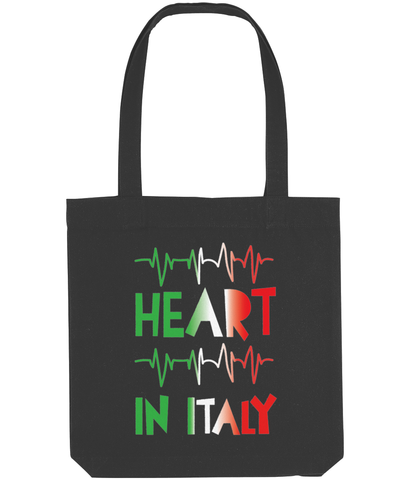 'Heart in Italy' Tote Bag