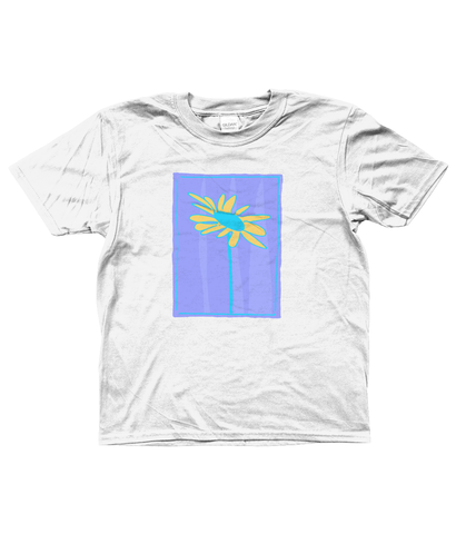 Kids Soft Cotton T-Shirt Daisy Design