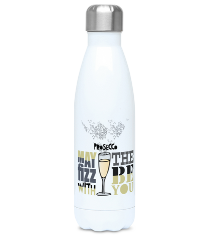 Prosecco Themed Re-Usable Water Bottle