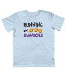 Kids 'Running on Ravioli' Organic Cotton T-Shirt