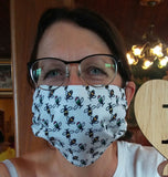 'Italian Bees' Washable Face Mask (Buy Any 5 Designs - Pay for 4)