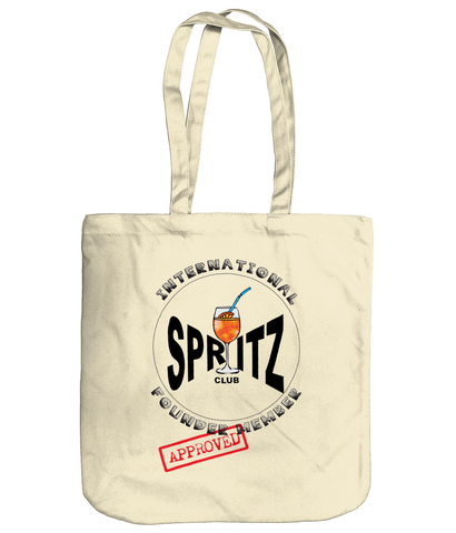 'Spritz Club' Organic Cotton Tote