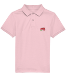 Kids Polo Shirt with red embroidered Cinquecento