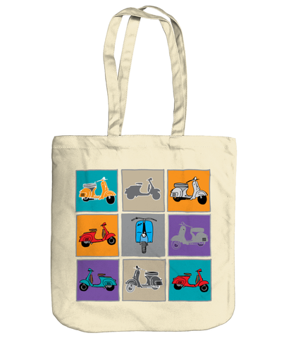 Vespa gifts tote bag