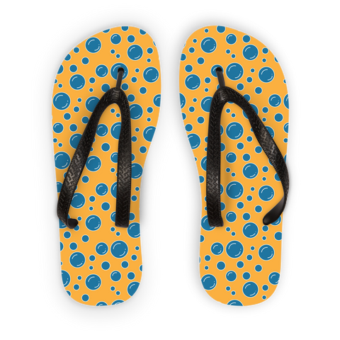 Bubble Flip flops Adult Flip Flops