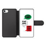 Ciao Ciao Ciao Front Printed WALLET Case