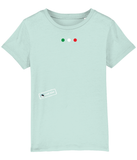 Kids T-Shirt Italian Flag Colours