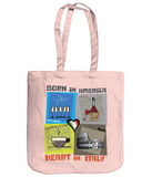 Heart in Italy Tote Bag from Shabby Sheep Design