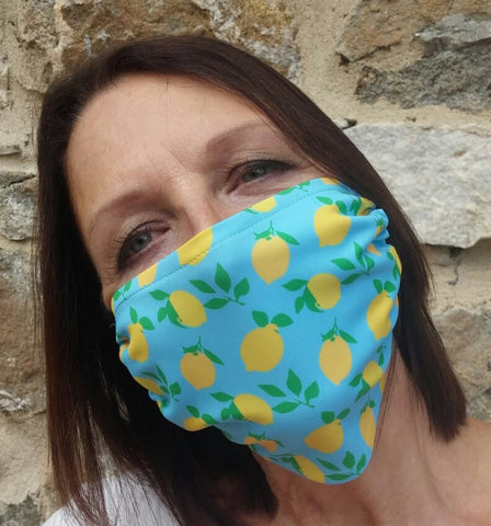 Positano Face Mask