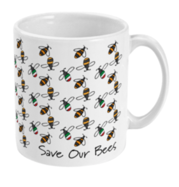 'Save Our Bees' Ceramic Mug